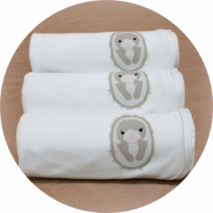 australian baby gifts organic baby blanket with echo echidna