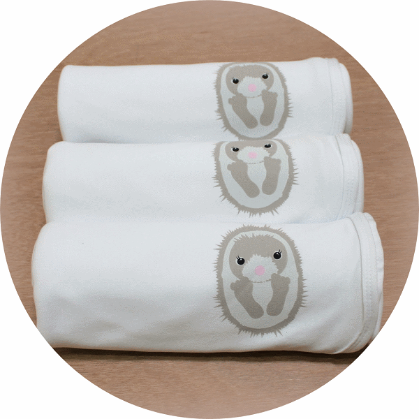 australian baby gifts organic cotton baby blanket with echo echidna