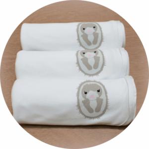 australian baby gifts organic baby blanket with echo echidna
