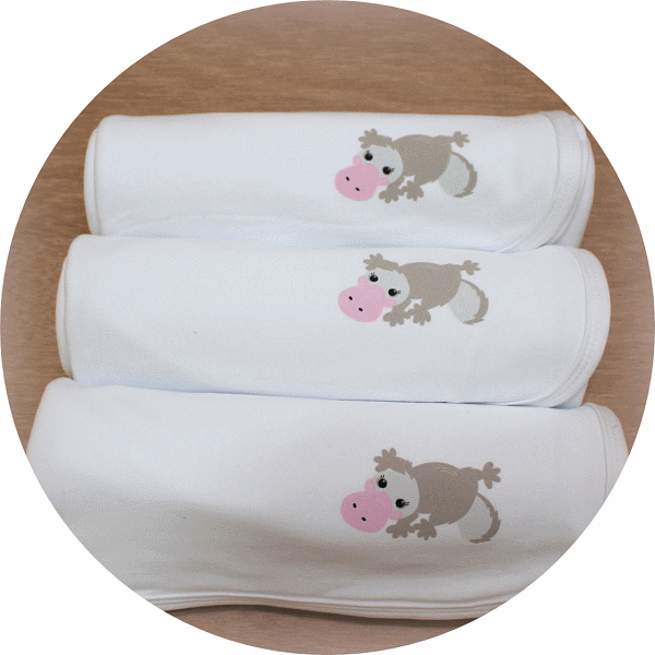 australian baby gifts organic cotton baby blanket with pebbles platypus
