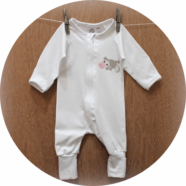 australian baby gifts organic cotton jumpsuit romper with pebbles platypus